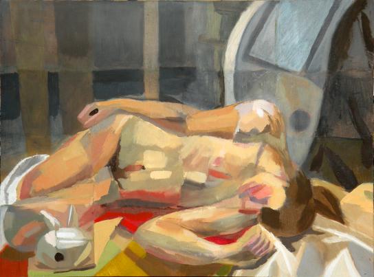 Female Nude Color Study